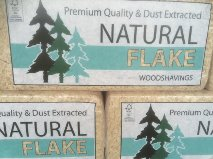 Natural Flake Shavings