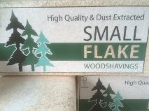 Small Flake Shavings